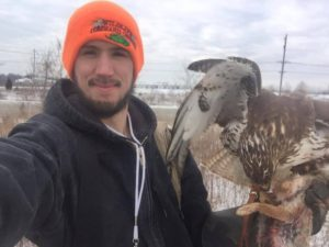 Wildlife control technician and General Class Falconer